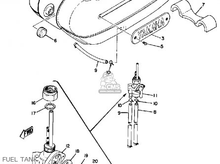 yamaha ls2 1972 parts list partsmanual partsfiche 2009 yamaha fz1 wiring diagram yamaha ls2 wiring diagram