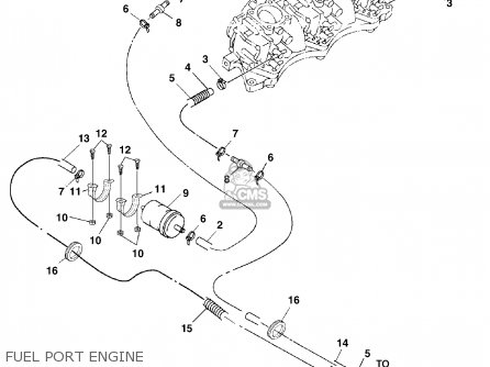 2005 Sea Doo Engine Diagram