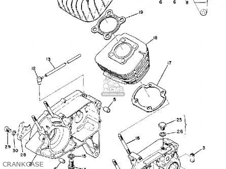 72 yamaha 100 wiring diagram yamaha lt2 1972 1973 usa parts lists and schematics  yamaha lt2 1972 1973 usa parts lists