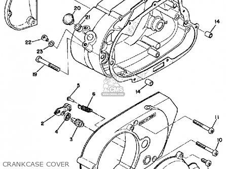 Yamaha Lt3 1973 Usa Parts Lists And Schematics