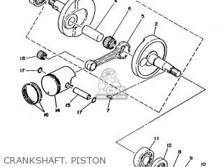 Yamaha Ma50m 1992 2fv England 262fv-310e1 Crankshaft  Piston