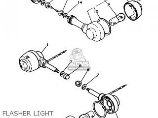 Yamaha Ma50m 1992 2fv England 262fv-310e1 Flasher Light
