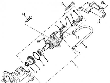 Yamaha Mj5oj Usa Oil Pump