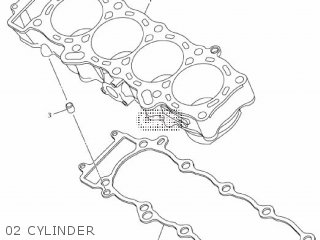 Yamaha Mtn1000 Mt10 2016 B671 Europe 1rb67-300e1 02 Cylinder