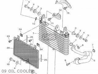 Yamaha Mtn1000 Mt10 2016 B671 Europe 1rb67-300e1 09 Oil Cooler