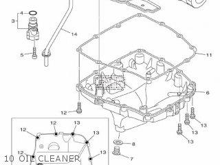 Yamaha Mtn1000 Mt10 2016 B671 Europe 1rb67-300e1 10 Oil Cleaner