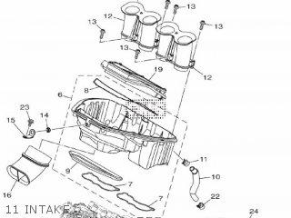 Yamaha Mtn1000 Mt10 2016 B671 Europe 1rb67-300e1 11 Intake