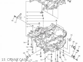 Yamaha Mtn1000 Mt10 2016 B671 Europe 1rb67-300e1 15 Crankcase