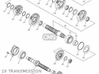 Yamaha Mtn1000 Mt10 2016 B671 Europe 1rb67-300e1 19 Transmission