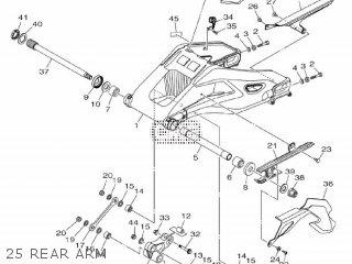 Yamaha Mtn1000 Mt10 2016 B671 Europe 1rb67-300e1 25 Rear Arm