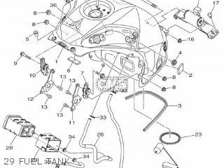 Yamaha Mtn1000 Mt10 2016 B671 Europe 1rb67-300e1 29 Fuel Tank