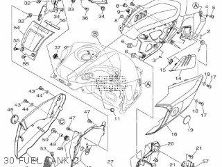 Yamaha Mtn1000 Mt10 2016 B671 Europe 1rb67-300e1 30 Fuel Tank 2