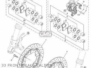 Yamaha Mtn1000 Mt10 2016 B671 Europe 1rb67-300e1 33 Front Brake Caliper