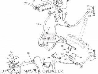 Yamaha Mtn1000 Mt10 2016 B671 Europe 1rb67-300e1 37 Front Master Cylinder