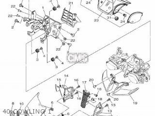 Yamaha Mtn1000 Mt10 2016 B671 Europe 1rb67-300e1 40 Cowling 1