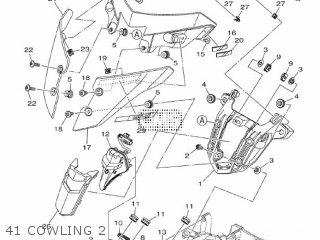 Yamaha Mtn1000 Mt10 2016 B671 Europe 1rb67-300e1 41 Cowling 2