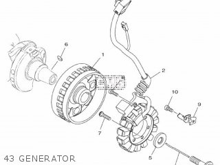 Yamaha Mtn1000 Mt10 2016 B671 Europe 1rb67-300e1 43 Generator