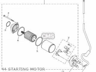 Yamaha Mtn1000 Mt10 2016 B671 Europe 1rb67-300e1 44 Starting Motor