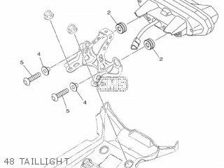 Yamaha Mtn1000 Mt10 2016 B671 Europe 1rb67-300e1 48 Taillight