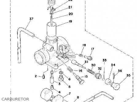 yamaha mx175f 1979 parts list partsmanual partsfiche