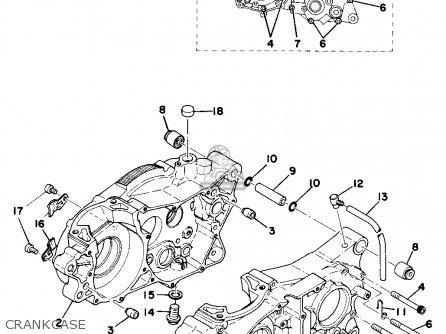 Yamaha MX250 1975 USA parts lists and schematics on