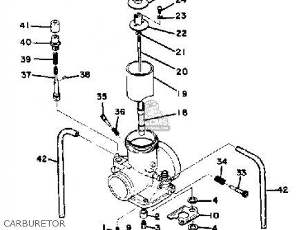 Yamaha Mx400 1975 Usa Carburetor