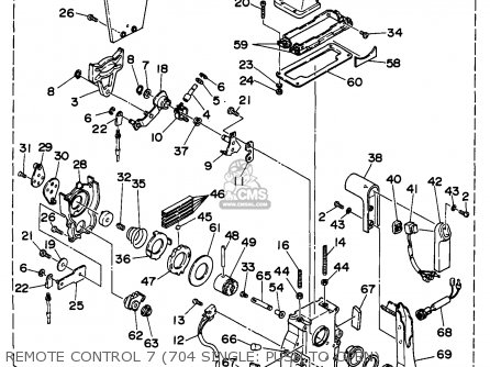 Yamaha 703 Remote Outboard Control Wiring Diagram on force key switch wiring diagram