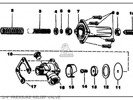 Yamaha Ps50 ps100 b15 b24 Moto-4 1987 3 4 Pressure Relief Valve