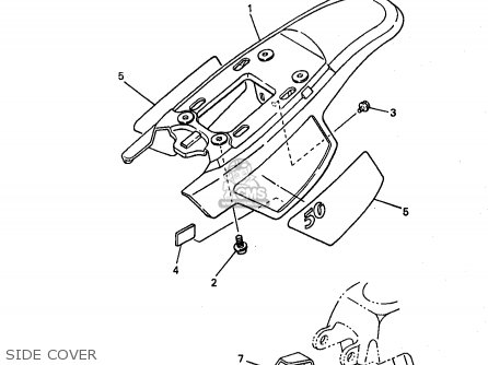 Yamaha Pw50 1 1998 W Usa Parts Lists And Schematics