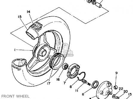 Yamaha Pw50 Wiring Diagram