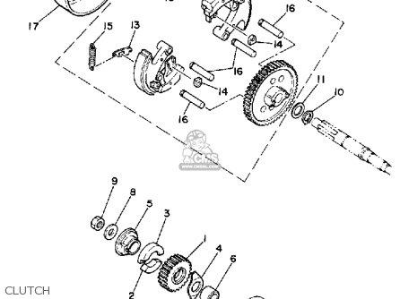 yamaha pw50 1985  f  usa parts list partsmanual partsfiche