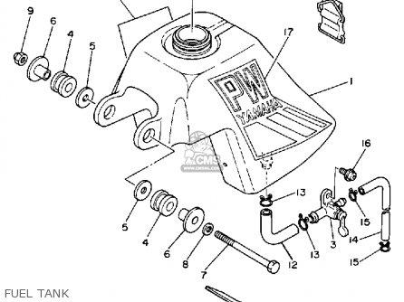 Yamaha Pw50 1985 F Usa Parts Lists And Schematics