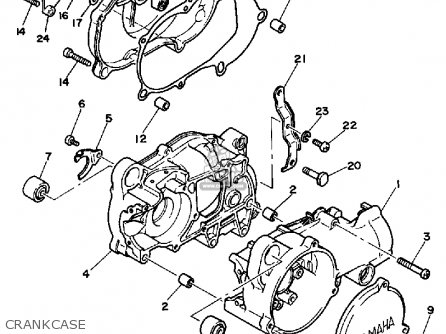 Yamaha Pw50 1986 G Usa Parts Lists And Schematics