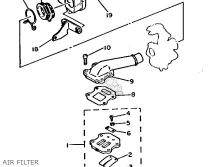 yamaha pw50 carburetor diagram