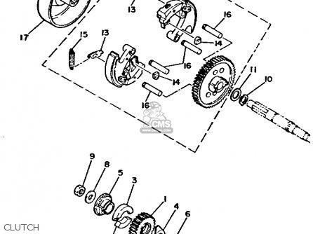 yamaha pw50 1994  r  usa canada parts list partsmanual