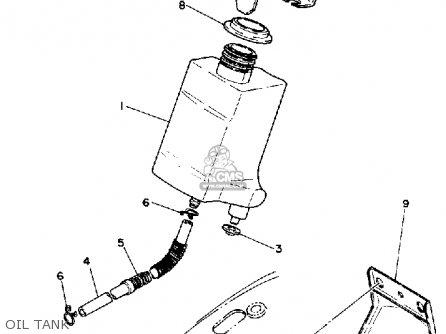 yamaha pw50 yzinger 1992  n  usa parts list partsmanual