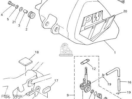 2 Stroke Engine Diagram For Pw 80 Dirt Bike