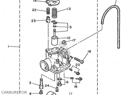 yamaha 80 carburetor diagram  yamaha  free engine image