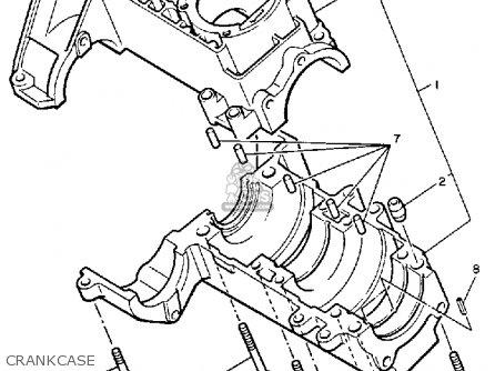 Yamaha Pz480ek Phazer Special 1986 Parts Lists And Schematics