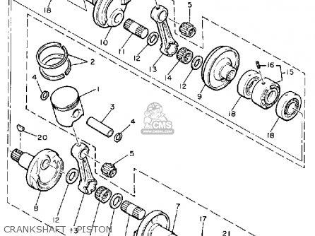 Yamaha Pz480el Phazer Special 1987 Parts Lists And Schematics