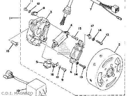 Yamaha Qt F Usa Cdi Magneto Mediumyau B F on Five Wire Cdi Diagram