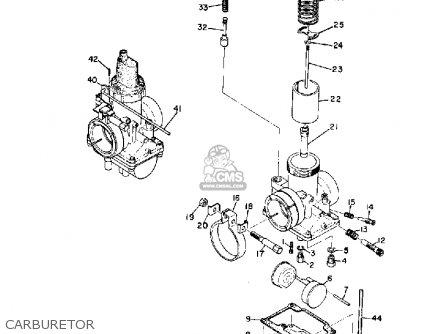Yamaha R3 1969 Usa Carburetor