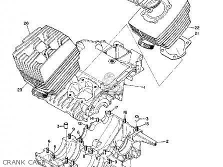 Yamaha R3 1969 Usa Crank Case