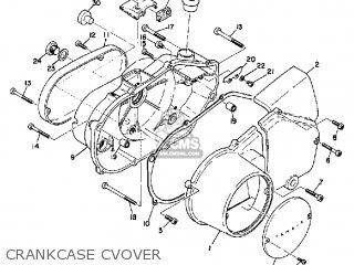 Yamaha R3 1969 Usa Crankcase Cvover