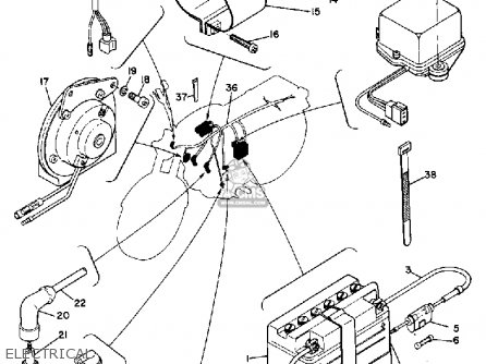 Yamaha R3 1969 Usa Electrical