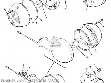 Yamaha R3 1969 Usa Flasher Lamp alternate Parts