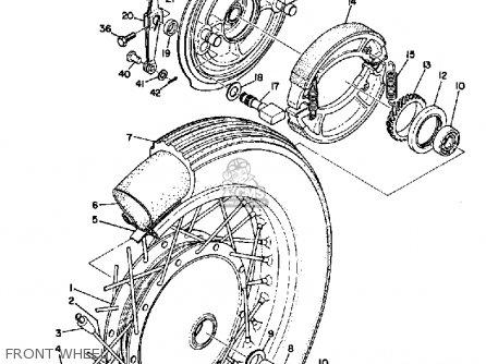 Yamaha R3 1969 Usa Front Wheel