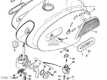 Yamaha R3 1969 Usa Fuel Tank