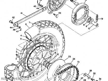 Yamaha R3 1969 Usa Rear Wheel