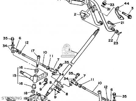 Yamaha Rc100sf Race Kart Parts List Partsmanual Partsfiche